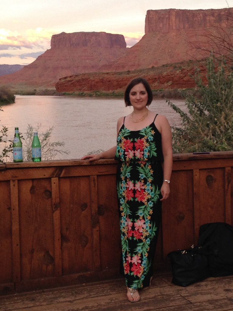 At Red Cliffs Lodge following a concert at the Moab Music Festival (September 2015)