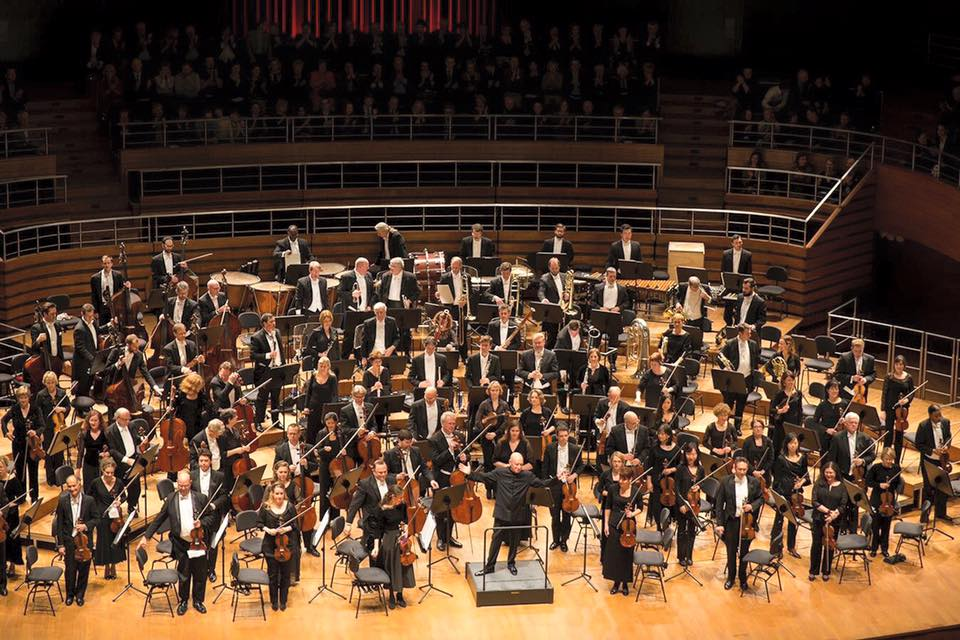On tour in Europe with the National Symphony Orchestra, conducted by Maestro Christoph Eschenbach (February 2016)
