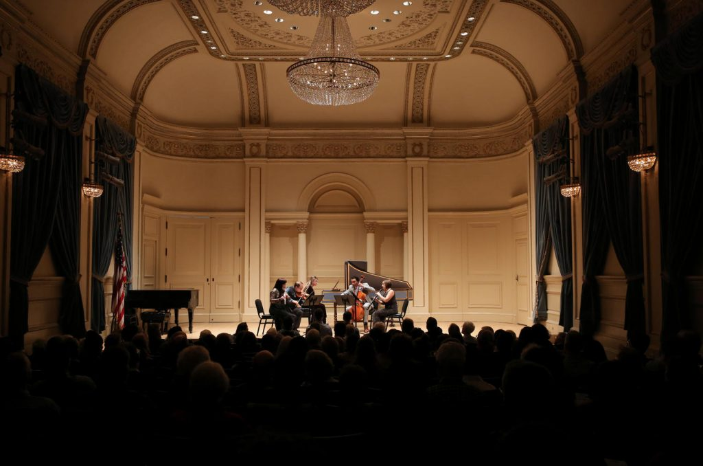 Performing with Decoda at Carnegie Hall