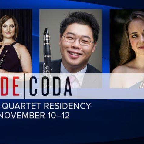 Nov 2019 | Decoda Wind Quartet Residency at the University of Kentucky